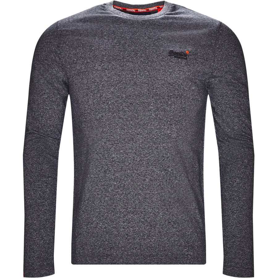 M6000. - M6000 - T-shirts - Regular - BLÅ MEL. - 1
